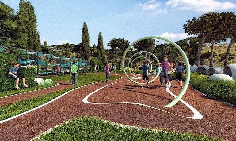 Linearni park